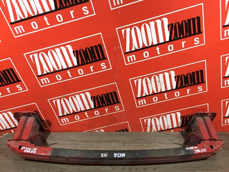 Усилитель бампера Mazda Demio DY3W ZJ-VE 2002 передний красный