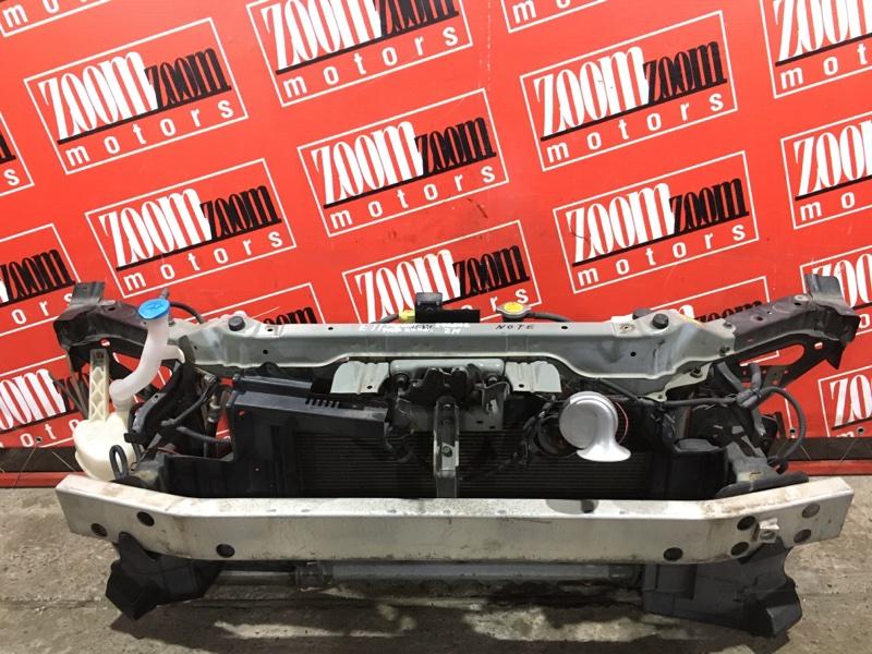 Рамка радиатора Nissan Note E11 HR15DE 2008 передняя черный