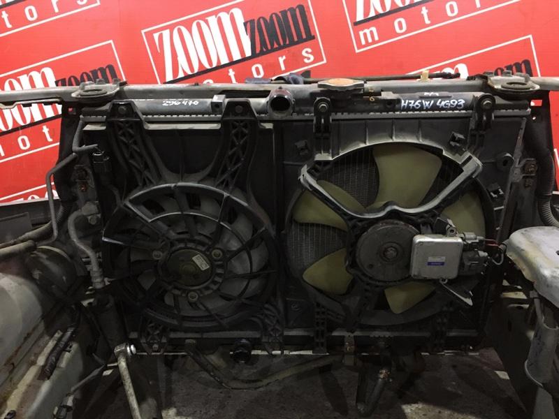 Радиатор двигателя Mitsubishi Pajero Io H76W 4G93 1998