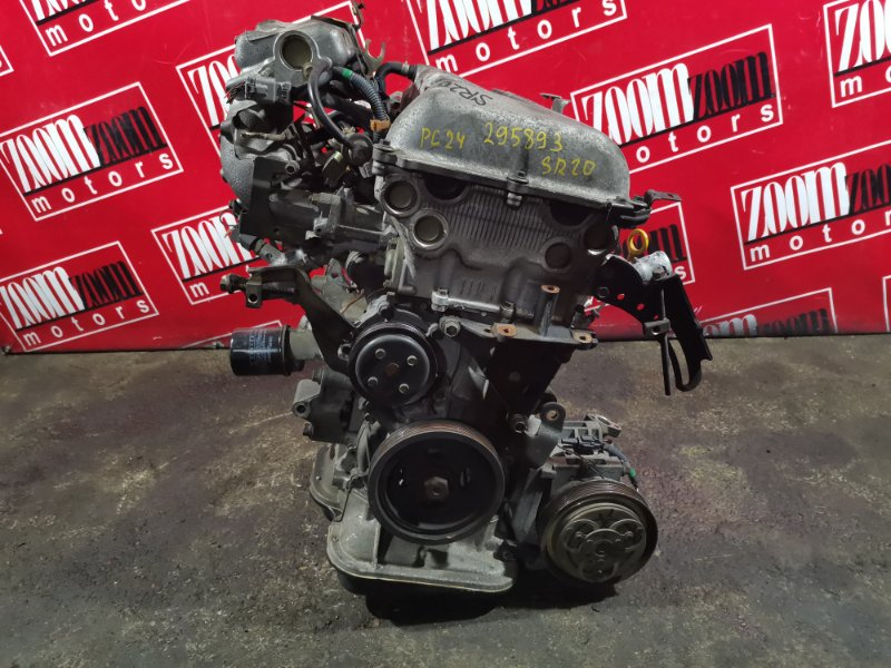 Двигатель Nissan Serena PC24 SR20DE 1999 277139B