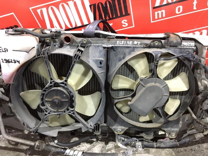 Радиатор двигателя Toyota Corsa EL51 4E-FE 1997 передний