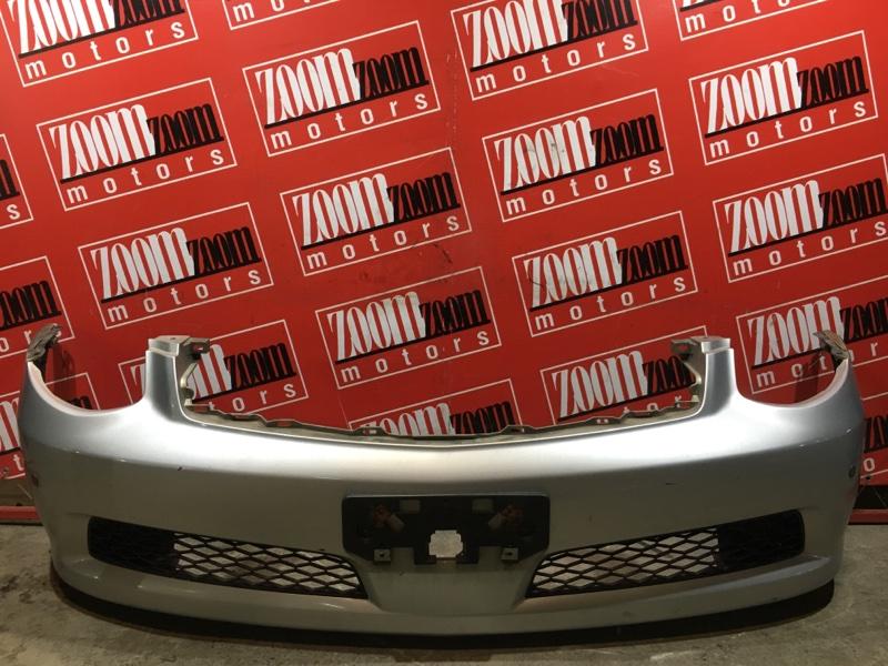 Бампер Nissan Skyline V35 VQ25DD 2001 передний серебро