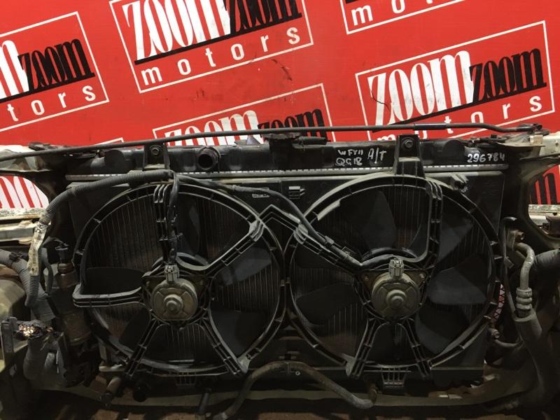 Радиатор двигателя Nissan Wingroad WFY11 QG18DE 1998