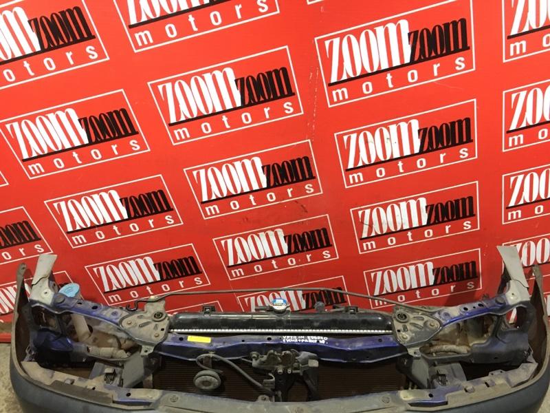 Рамка радиатора Nissan Ad VFY11 QG18DE 1998 передняя синий