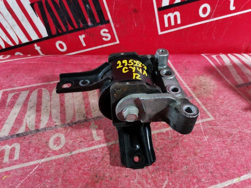 Подушка двигателя Mitsubishi Lancer X CY4A 4B11 2007 правая