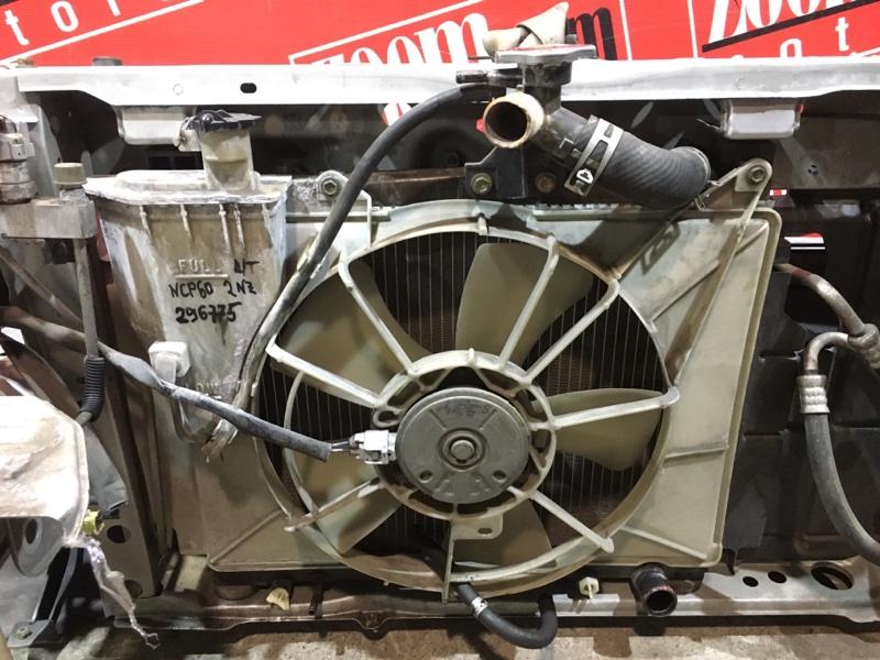Радиатор двигателя Toyota Ist NCP60 2NZ-FE 2002