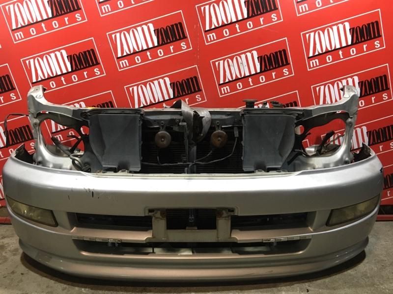 Бампер Toyota Regius KCH40 1KZ-TE 1999 передний серебро