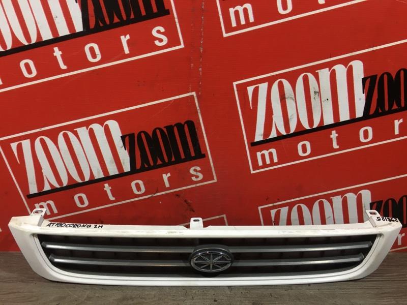 Решетка радиатора Toyota Corona AT190 5A-FE 1992 передняя белый