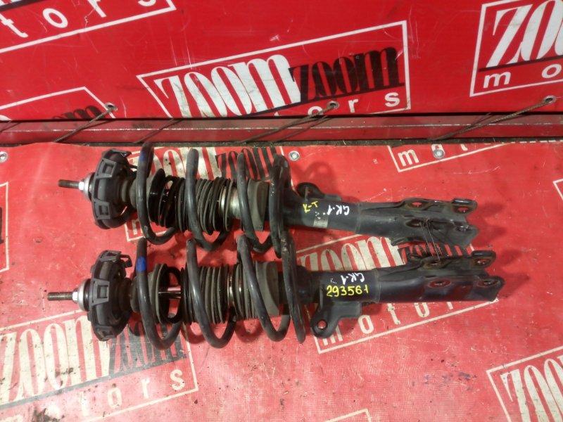 Стойка подвески Honda Mobilio Spike GK1 L15A 2002 передняя