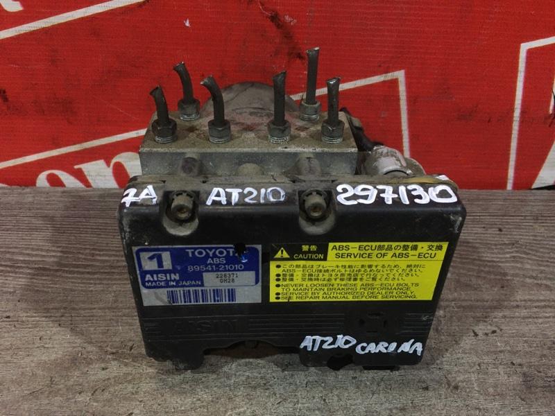 Блок abs (модулятор abs) Toyota Carina AT210 7A-FE 1996 передний 44510-21010