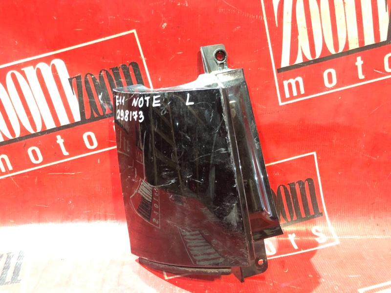 Планка под фонарь Nissan Note E11 HR15DE 2004 задняя левая черный