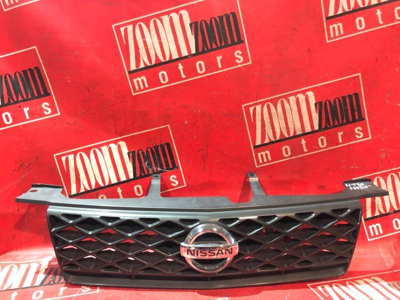 Решетка радиатора Nissan X-Trail NT30 QR20DE `2001 передняя черный