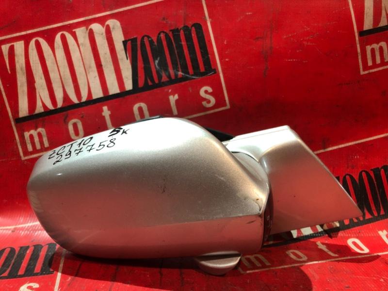 Зеркало боковое Toyota Opa ZCT10 1ZZ-FE 2000 переднее правое серебро
