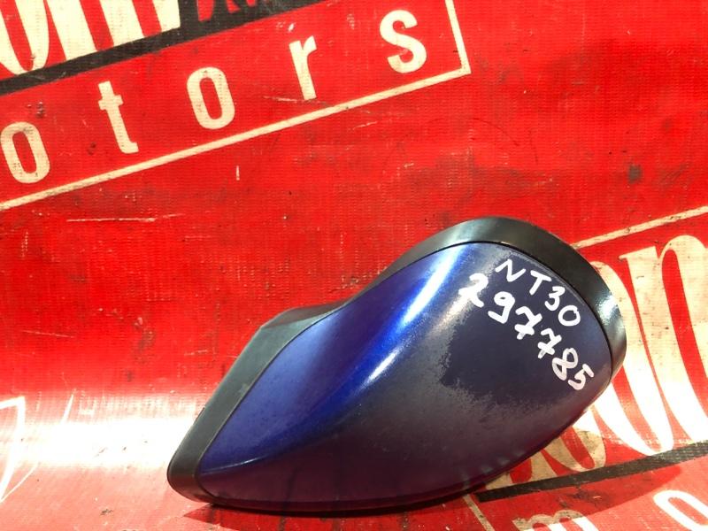 Зеркало боковое Nissan X-Trail NT30 QR20DE `2001 синий