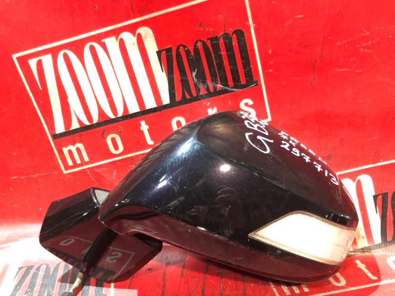 Зеркало боковое Honda Freed GB3 L15A 2007 переднее левое фиолетовый