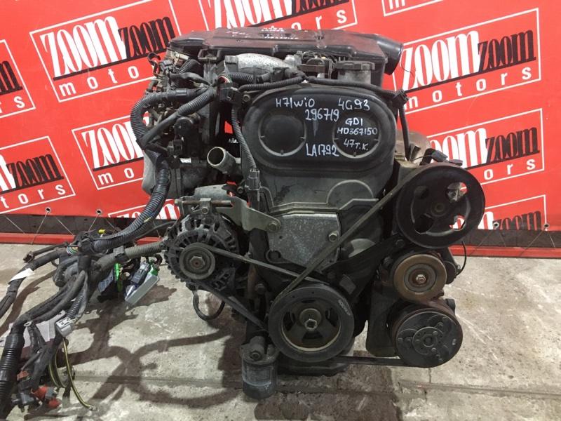 Двигатель Mitsubishi Pajero Io H71W 4G93 1998 LA1792