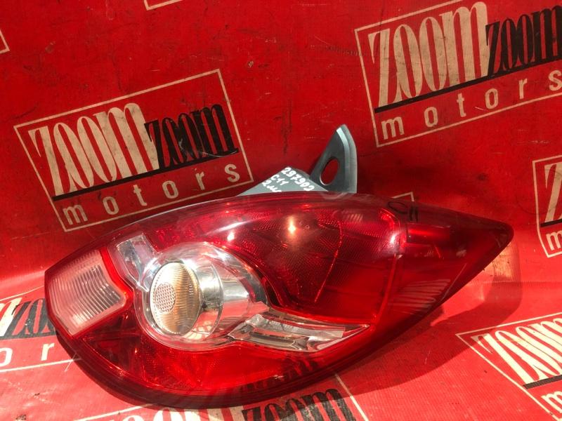 Фонарь (стоп-сигнал) Nissan Tiida C11 HR15DE 2004 задний правый 75-11