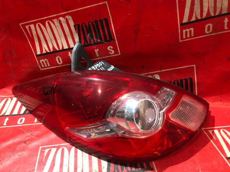 Фонарь (стоп-сигнал) Nissan Tiida C11 HR15DE 2004 задний левый 75-11