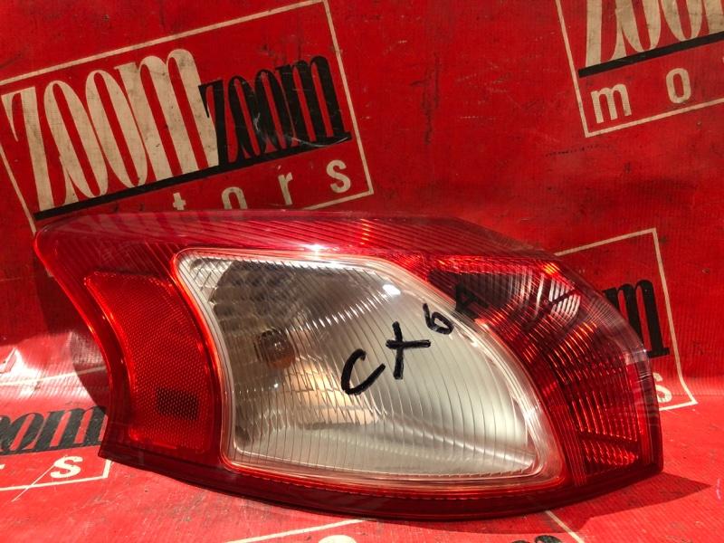Фонарь (стоп-сигнал) Mitsubishi Lancer X CX4A 4B11 2007 задний левый 220-87977