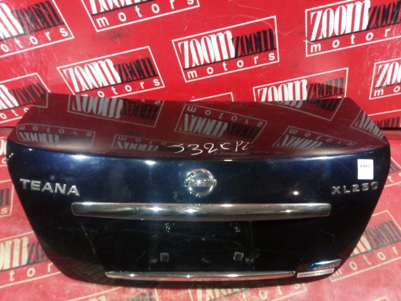 Крышка багажника Nissan Teana J32 VQ25DE 2008 задняя черный