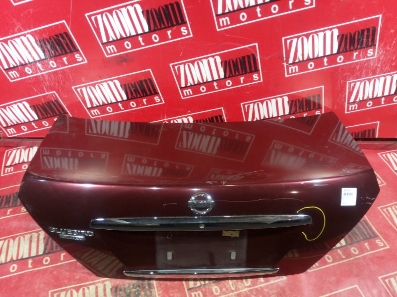 Крышка багажника Nissan Bluebird Sylphy TG10 QG18DE 2003 задняя вишневый