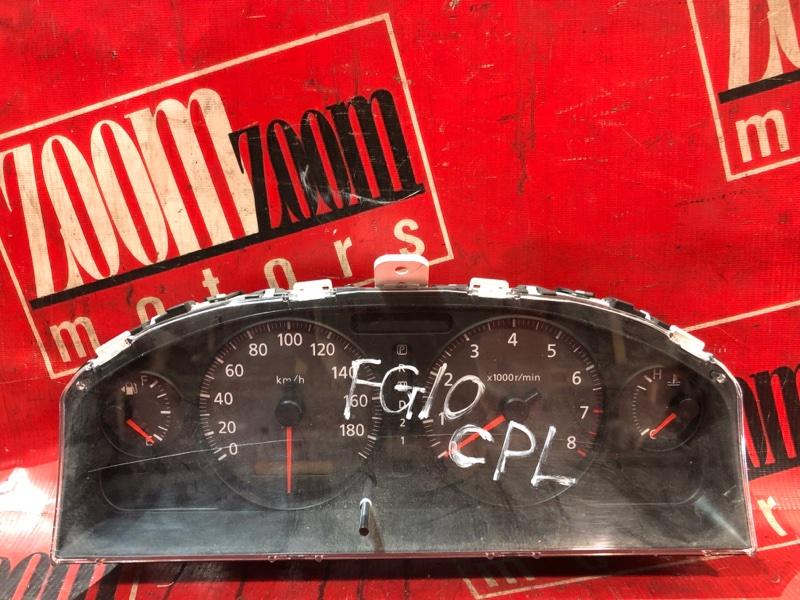 Комбинация приборов (спидометр) Nissan Bluebird Sylphy FG10 QG15DE 2000