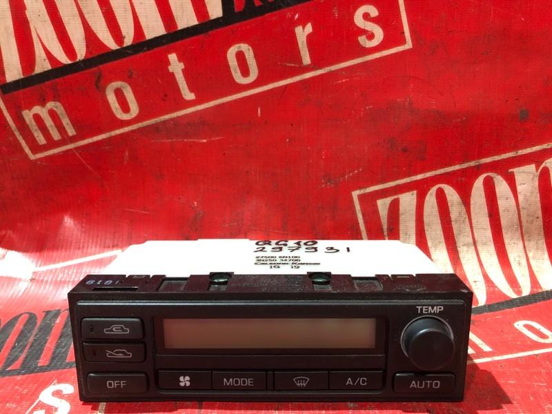 Блок управления отоплением и вентиляцией Nissan Bluebird Sylphy QG10 QG18DE 2000 передний