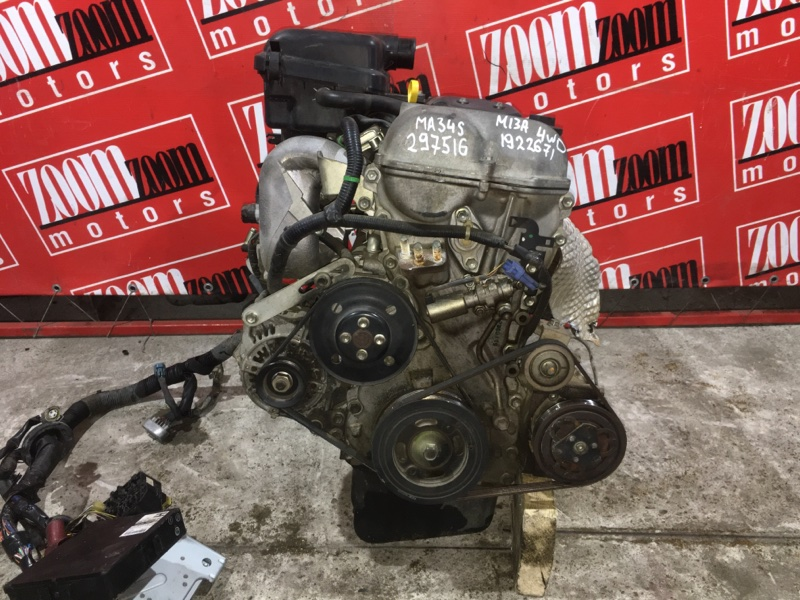 Двигатель Suzuki Wagon R Solio MA34S M13A 2000 1922671