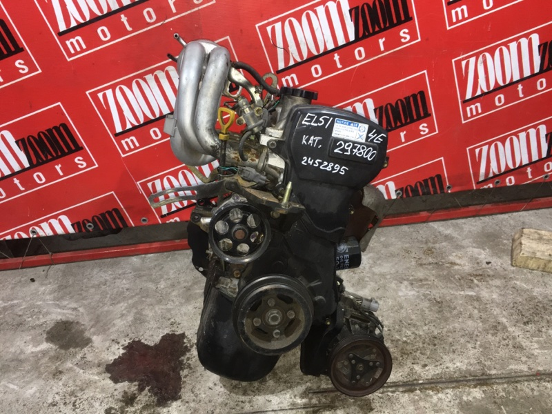 Двигатель Toyota Corsa EL51 4E-FE 1994 2452895