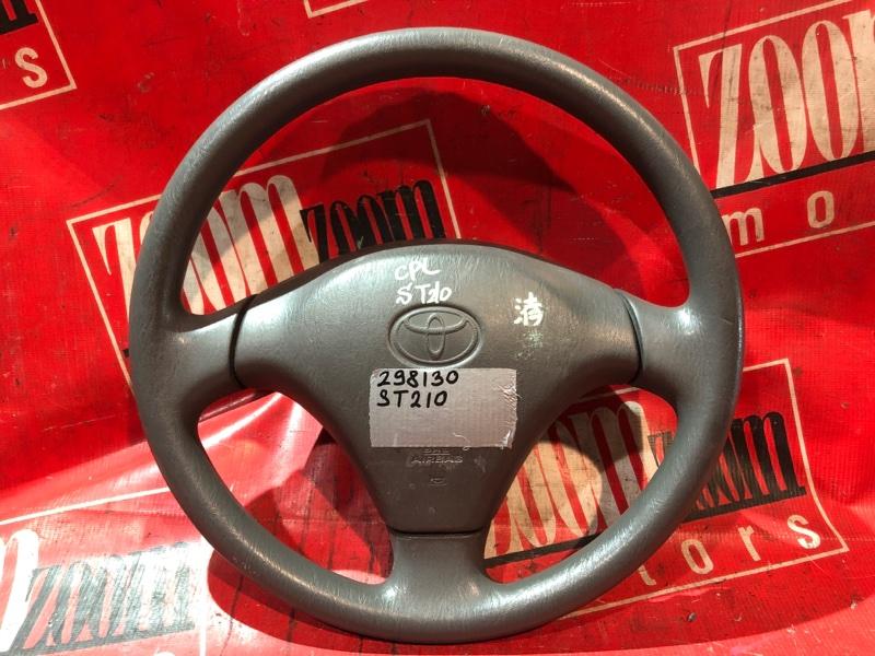 Руль Toyota Caldina ST210 3S-FE 1996 серый