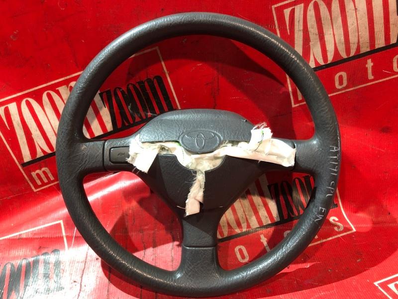Руль Toyota Caldina AT191 5A-FE 1992 серый