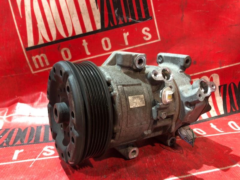 Компрессор кондиционера Toyota Wish ZNE10 1ZZ-FE 2001