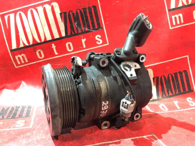 Компрессор кондиционера Toyota Alphard MNH10 1MZ-FE 2002