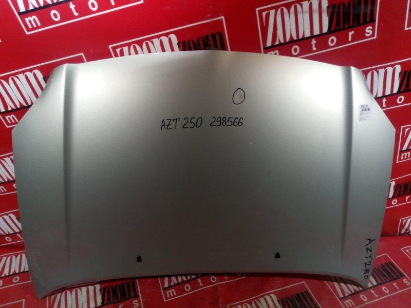 Капот Toyota Avensis AZT250 1AZ-FSE 2003 передний серебро