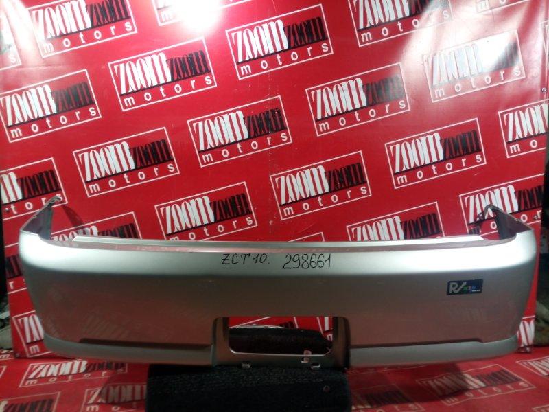 Бампер Toyota Opa ACT10 1AZ-FSE 2001 задний серебро