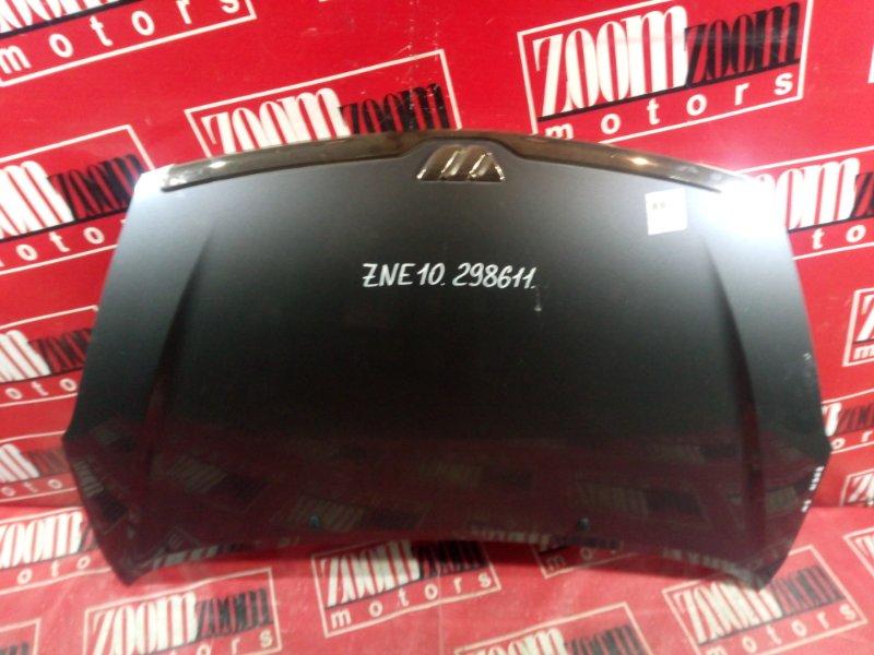 Капот Toyota Wish ZNE10 1ZZ-FE 2003 передний голубой