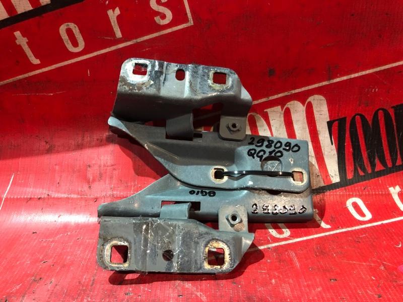 Кронштейн капота Nissan Bluebird Sylphy QG10 QG18DE 2000 передний бирюзовый