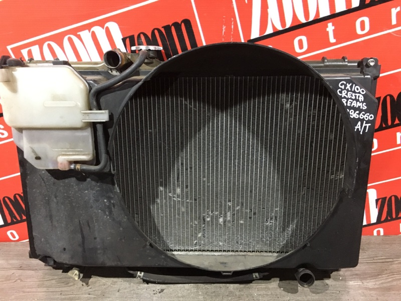 Радиатор двигателя Toyota Cresta GX100 1G-FE 1996