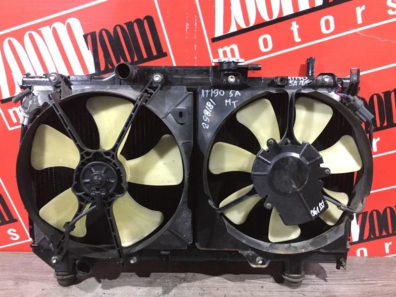 Радиатор двигателя Toyota Corona AT190 5A-FE 1992