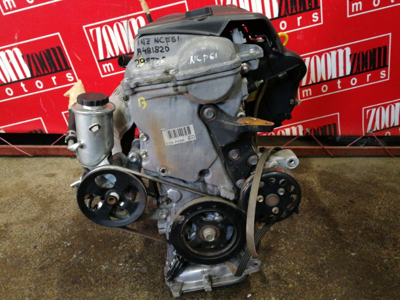 Двигатель Toyota Ist NCP61 1NZ-FE 2002