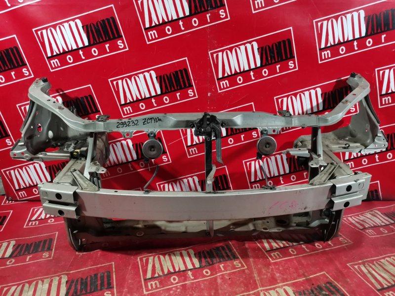 Рамка радиатора Toyota Opa ZCT10 1ZZ-FE 2000 передняя серебро