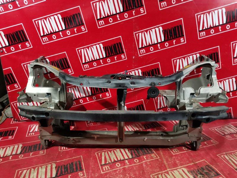 Рамка радиатора Toyota Raum EXZ10 5E-FE 1999 передняя золото