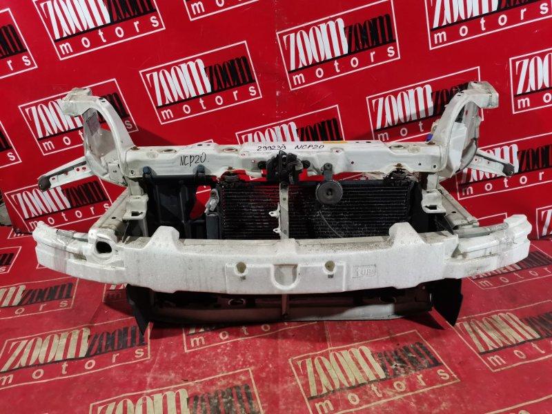 Рамка радиатора Toyota Funcargo NCP20 2NZ-FE 2002 передняя белый