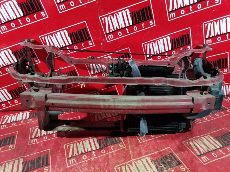 Рамка радиатора Honda Hr-V GH1 D16A 2002 передняя красный