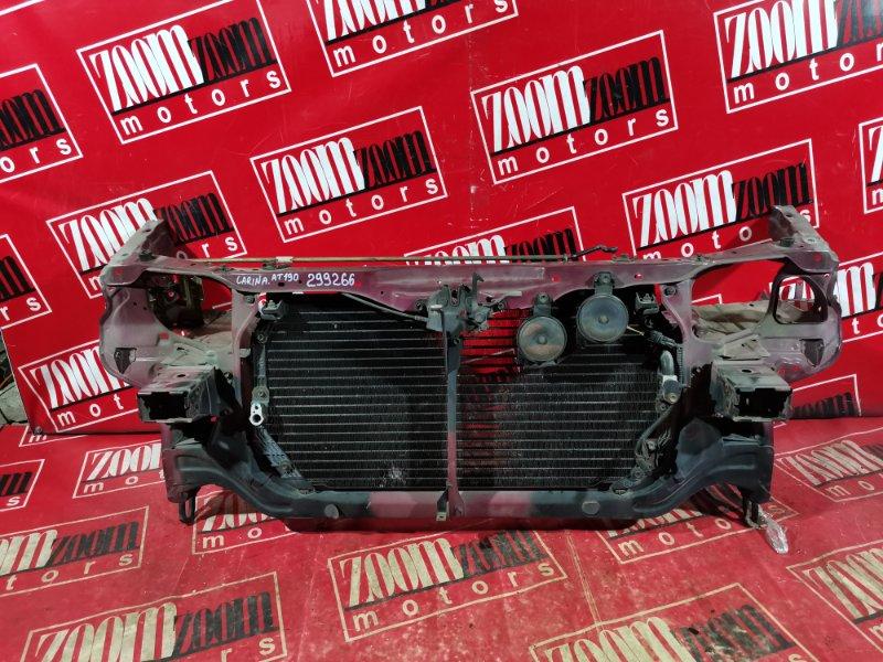 Рамка радиатора Toyota Carina AT190 5A-FE 1994 передняя вишневый