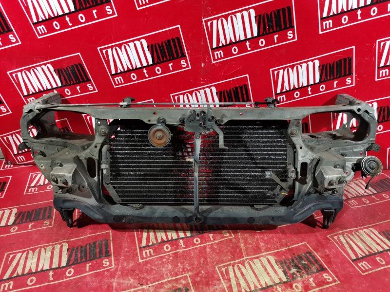 Рамка радиатора Toyota Vista SV40 4S-FE 1994 передняя серебро