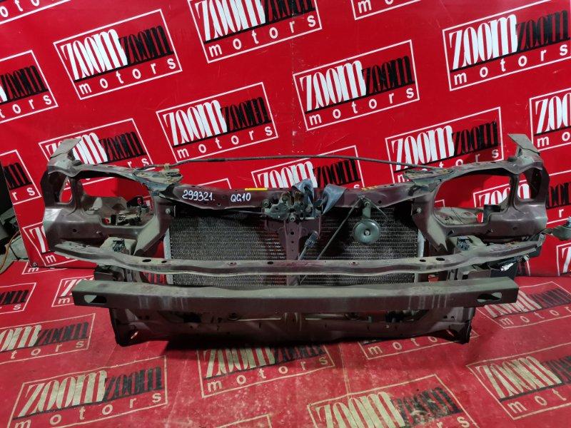 Рамка радиатора Nissan Bluebird Sylphy TG10 QG18DE 2003 передняя вишневый
