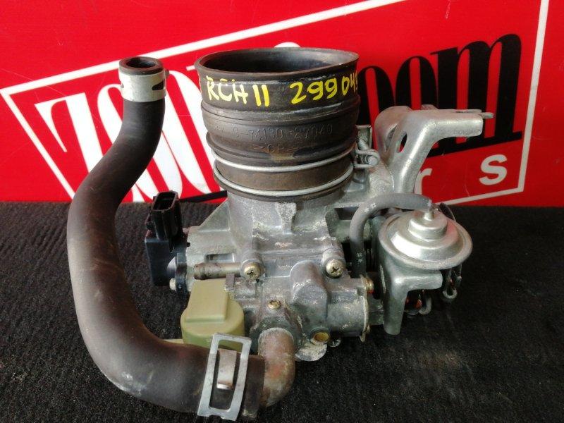Заслонка дроссельная Toyota Granvia RCH11W 3RZ-FE 1997