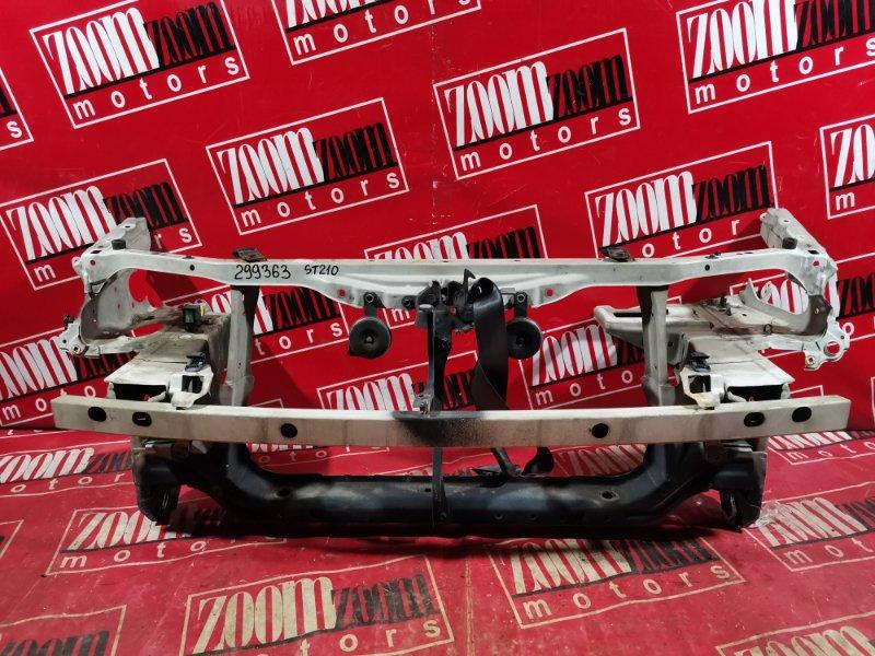 Рамка радиатора Toyota Caldina ST215 3S-FE 1997 передняя белый
