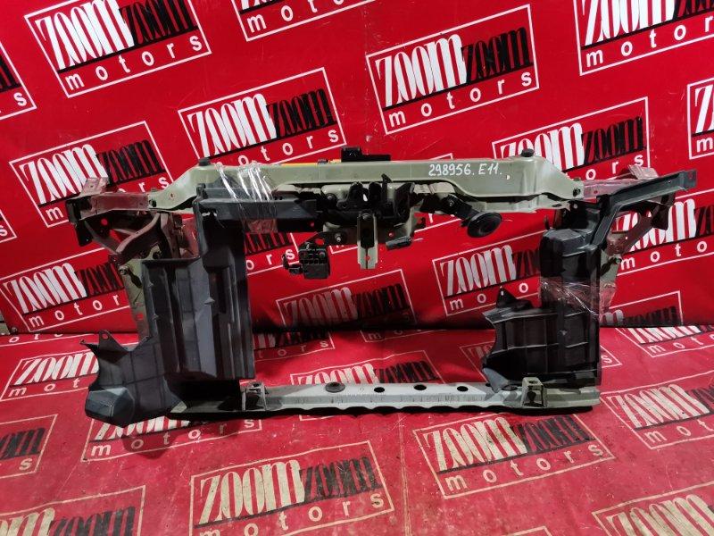 Рамка радиатора Nissan Note E11 HR15DE 2008 вишневый